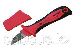 200007 Нож для резки кабеля VDE, с лезвием в форме крюка 50 мм Haupa