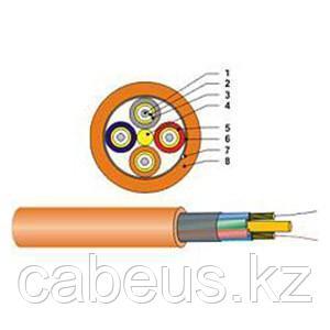 (DE010022833) Кабель оптический Break-out, многомодовый 50/125µ ОМ3, 8 волокон, 1000м