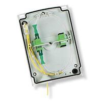 (FQ100079083) N501685A Бокс PBO S1 с патч-панелью на 12 разъемов SC/APC и одной кассетой