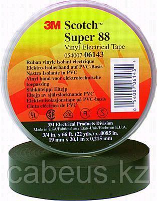 (80610833867) Scotch Super 88 Изоляционная лента, черная, высшего класса, 19мм х 20м х 0,22мм