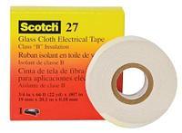 (80000207722) Scotch 27 Стекловолоконная электроизоляционная лента 19мм х 20м