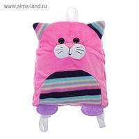 Мягкая игрушка-рюкзак «Котёнок»