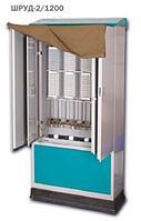 Шкаф распределительный уличный двойной ШРУД-2/600, замок, плинт с размыкаемыми контактами, 50% комплектация