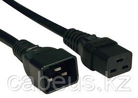 PC-C19C20-2M ITK Кабель электропитания PDU 3х1,5 2М с разъёмами С19-C20