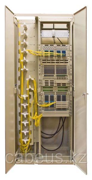Шкаф комбинированный с органайзерами левый 19''+10'' 45U 900х600х2000мм ВОКС-Ф