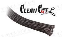 CCPT6. Эластичная кабельная оплетка для быстрых инсталляций (ПЭТ тройное плетение)- 27.9 мм