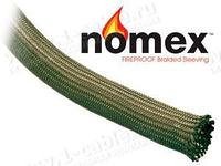 """NXN1.. Высокотемпературная гибкая оплетка """"Nomex"""" (арамидное волокно) до 350 гр."""
