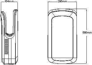 BXG 7200 сушилка для рук