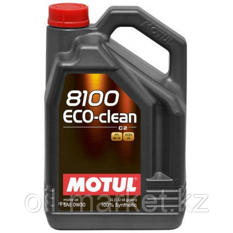 Моторное масло MOTUL 8100 Eco-clean 0W-30 5л, фото 2