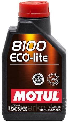 Моторное масло MOTUL 8100 Eco-lite 5W-30 1л, фото 2