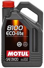Моторное масло MOTUL 8100 Eco-lite 0W-20 4л