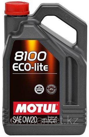 Моторное масло MOTUL 8100 Eco-lite 0W-20 4л, фото 2