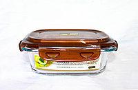 Контейнер для еды, стеклянный, 18*13 см