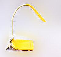 Настольная лампа, USB шнур, желтый