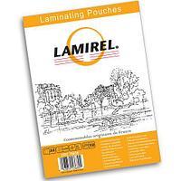 Пленка для ламинирования Lamirel А4 75мкм 100 штук