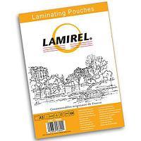 Пленка для ламинирования Lamirel А4 100мкм 100 штук