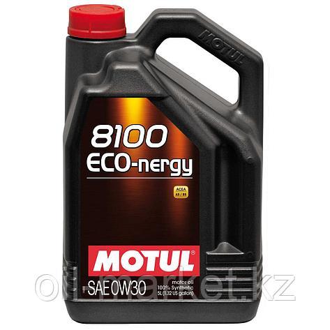 Моторное масло MOTUL 8100 Eco-nergy 0W-30 5л, фото 2