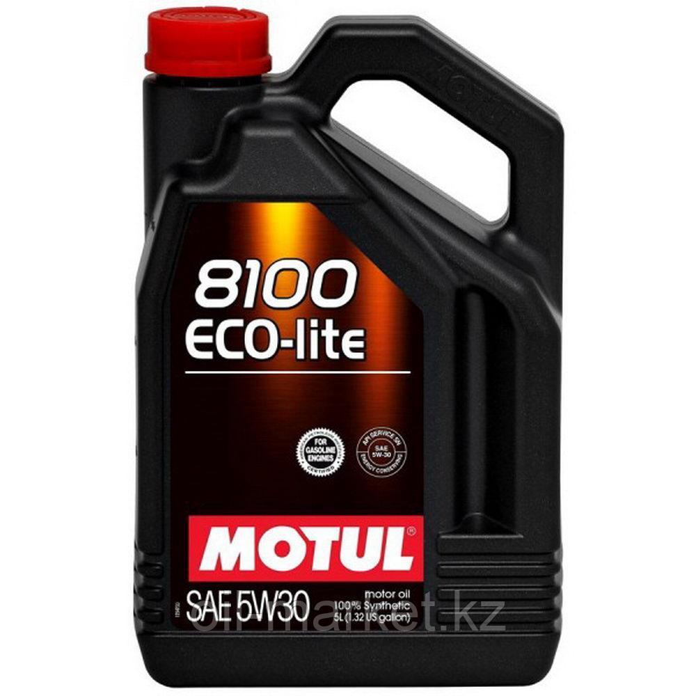 Моторное масло MOTUL 8100 Eco-lite 5W-30 4л