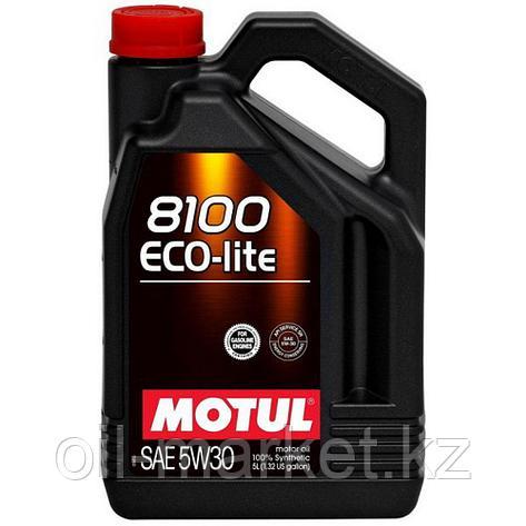 Моторное масло MOTUL 8100 Eco-lite 5W-30 5л, фото 2