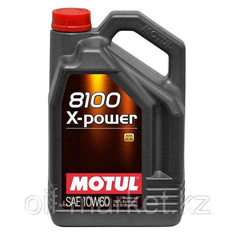 Моторное масло MOTUL 8100 X-Power 10W-60 5л, фото 2