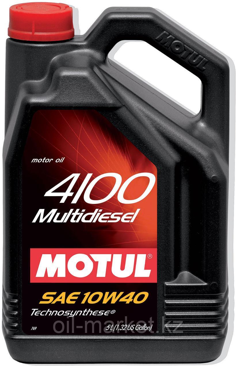 Моторное масло MOTUL 4100 Multi Diesel 10W-40 5л