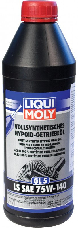 Трансмиссионное масло LIQUI MOLY LS SAE 75W-140 1л
