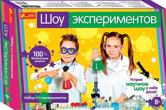 Научные игры мини: Шоу экспериментов