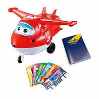 Игрушка супер крылья Самолет Джетт со светом и звуком YW710410