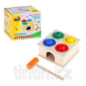 Деревянная игрушка стучалка