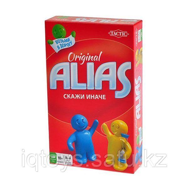 Настольная игра Alias Original (Элиас Оригинальный) Компактная версия, Tactic (Тактик)