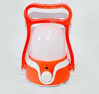 Фонарь кемпинговый аккумуляторный, красный, фото 1