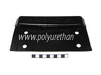 Накладка защитная на крепление опоры экспедиционной корзины (багажника)