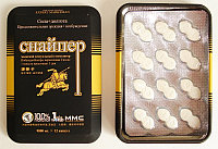 Снайпер препарат для повышения потенции (12 таб)