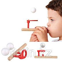 Деревянная логопедическая дудка для тренировки речевого дыхания, фото 2