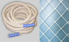 Спортивные сетки и веревка
