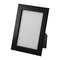 Фоторамка Фискбу 10х15 черный ИКЕА, IKEA, фото 1