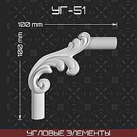 Угловой элемент 100*100 мм