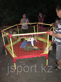 Батут с ограждением, Россия, Leco, диаметр-180см г. Алматы