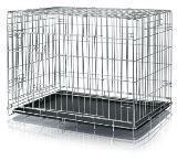 Trixie Металлическая оцинкованная клетка с пластиковым поддоном - 116 × 86 × 77см, фото 1