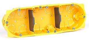 Коробка Сухих Перегородок 3 поста (6/8/3*2 модулей) Гл.50мм