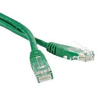 ITK Коммутационный шнур (патч-корд), кат.6 UTP, LSZH, 1м, зеленый, фото 1