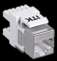 ITK Модуль Keystone Jack кат.5E FTP, IDC Dual, верт. зад., фото 1