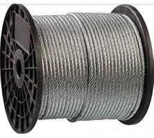 Трос стальной DIN 3055 Зубр