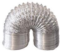 Гибкие фольгированные не изолированные воздуховоды д.100 мм