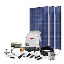 Солнечная станция сетевая, мощностью 1,6 кВт в час, 220В