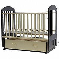 Кровать детская Дарина-6, маятник, венге-слоновая кость