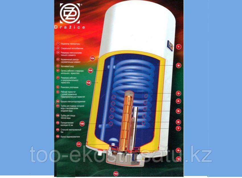 Настенный комбинорованный бойлер DRAZICE OKC 80 - фото 3