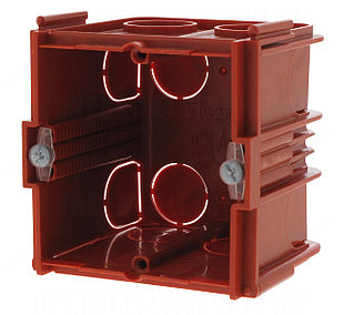 Коробка для кирпичных стен 1 пост(2 модуля) Глубина 60мм