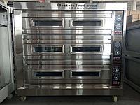 Пекарский шкаф электрический, 3 секции 9 противней