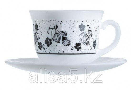 Alcove black сервиз чайный 22 cl, уп.